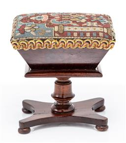 Sale 9190E - Lot 11 - An aprentice sewing box form pin cushion, Height 13.5cm