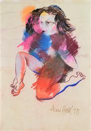 Sale 8339A - Lot 598 - Anne Hall (1945 - ) - Untitled, 1978 99.5 x 70.5cm (sheet size)