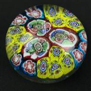 Sale 8402D - Lot 20 - Castellani Millefiori Art Glass Paperweight (Height - 6.2cm)