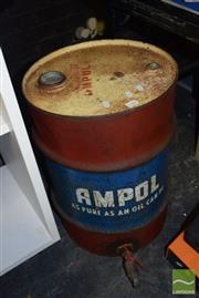 Sale 8509 - Lot 2286 - Ampol Vintage Oil Can with Tap