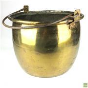 Sale 8550K - Lot 73 - Vintage French Brass Cauldron, 46 x 35cm