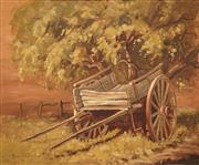 Sale 8592 - Lot 2016 - Robert Wilson (1942 - ) - Leggetts Spring Cart, Hill End 36.5 x 44cm
