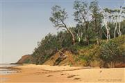 Sale 8652 - Lot 504 - David Rose (1936 - 2006) - Bush at Bateau Bay, 1991 51.5 x 71.5cm