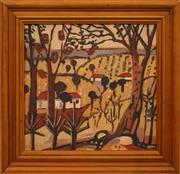 Sale 8697A - Lot 56 - Australian School - Untitled landscape unsigned