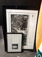 Sale 8682 - Lot 2073 - Signed Joan Sutherland and Steve Waugh memorabilia