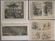 Sale 8734A - Lot 79 - A collection of (4) various antique prints