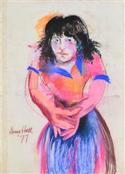 Sale 8410A - Lot 5067 - Anne Hall (1945 - ) - Untitled, 1977 99.5 x 70.5cm (sheet size)