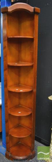 Sale 8347 - Lot 1016 - Corner Bookcase
