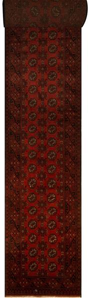 Sale 8424C - Lot 30 - Afghan Turkman Runner 780cm x 80cm