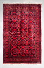Sale 8480C - Lot 29 - Afghan Khal Mohamadi 200cm x 125cm