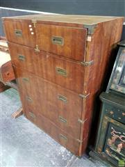Sale 8562 - Lot 1003 - Henredon Oriental Style Chest of Six Drawers