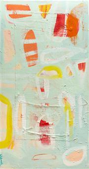 Sale 8595A - Lot 3 - Elizabeth Wadsworth - Moonbeam Series 143 x 76cm
