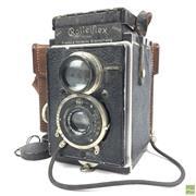 Sale 8648A - Lot 18 - Rolleiflex Vintage Camera