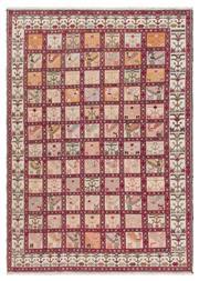 Sale 8918C - Lot 6 - Persian Silk Shahsavan Tribal Kilim, 205x290cm, Handspun Silk