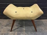Sale 9022 - Lot 1075 - Vintage Australian Buttoned Footstool (h:46cm)
