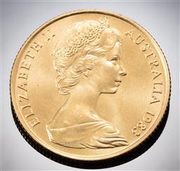 Sale 9153C - Lot 309 - AUSTRALIAN TWO HUNDRED DOLLAR GOLD COIN; 1983 Koala, 22ct gold, wt. 10.03g.
