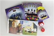 Sale 8463 - Lot 16 - Beatles Vinyl And DVD Box Set Together With Vintage Yoyos