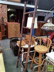 Sale 8469 - Lot 1067 - Bamboo Ladder