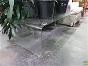Sale 8601 - Lot 1401 - Bent Glass Coffee Table