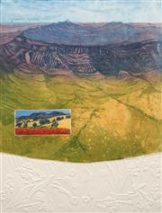 Sale 8652A - Lot 5087 - Joy Redman (1928 - 2006) - Wilpena Pound 65.5 x 49.5cm (frame: 97.5 x 79cm)