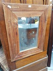 Sale 8688 - Lot 1088 - Set of 3 Timber Framed Mirrors