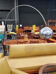 Sale 8930 - Lot 1031 - Marble Based Arc Lamp