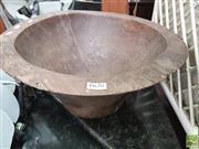Sale 8424 - Lot 1090 - Large Timber Bowl