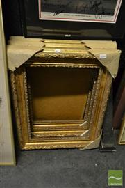 Sale 8503 - Lot 2086 - Collection of Small Gilt Frames