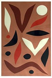 Sale 8544A - Lot 5014 - John Coburn (1925 - 2006) - Walbiri, 1984 75 x 50cm