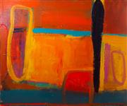 Sale 8595A - Lot 5 - Elizabeth Wadsworth - Wanginja Spirits 183 x 152cm