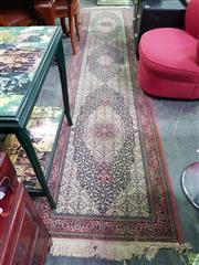 Sale 8611 - Lot 1087 - Turkish Machine Made Wool Runner 360 x 76 cm