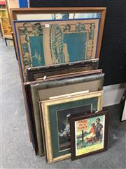 Sale 8754 - Lot 2064 - Framed Prints (10)