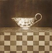 Sale 8992A - Lot 5088 - Peter Hickey (1943 - ) - Silver Jug 45 x 45 cm; 75 x 57 cm (sheet size)
