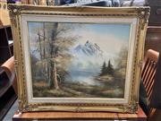 Sale 9058 - Lot 2070 - Artist Unknown - Nature Landscape