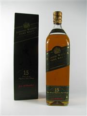 Sale 8329 - Lot 547 - 1x Johnnie Walker 15YO Pure Malt Scotch Whisky - 1000ml in box