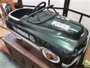 Sale 8424 - Lot 1098 - Police Style Pedal Car