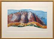 Sale 8655 - Lot 2032 - Joy Redman (1928 - 2006) - Olgas II (Diptych) 48.5 x 89cm
