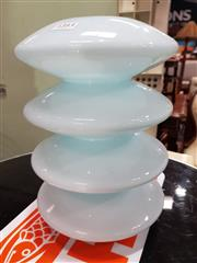 Sale 8705 - Lot 1092 - Holmgaard Ribbed Glass Vase
