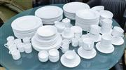 Sale 8746 - Lot 1016 - A white porcelain Country Road extensive part dinner set setting