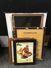 Sale 8754 - Lot 2065 - Artworks, some framed (13)
