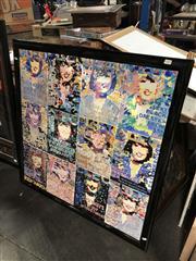 Sale 8841 - Lot 2021 - John Brooke Cleo Magazine acrylic on canvas, 101 x 101cm, signed verso
