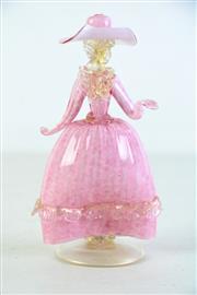Sale 8944 - Lot 77 - Murano Glass Lady H: 21cm