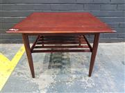 Sale 9002 - Lot 1012 - Parker Coffee Table With Shelf Below (h:52 x d:78cm)