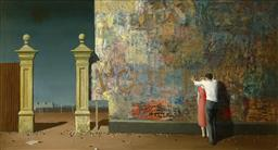 Sale 9150 - Lot 561 - JEFFREY SMART (1921 - 2013) Trumper Park, 1963 archival pigment print, ed. 8/499 (unframed) 61 x 106 cm certificate verso