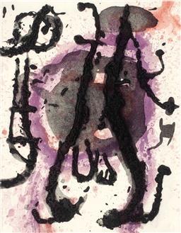 Sale 9249A - Lot 5019 - JOAN MIRO (1893 - 1983) - Sumo, 1968 47.5 x 37 cm (frame: 97 x 80 cm)