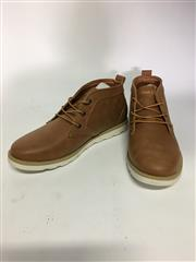 Sale 8288B - Lot 21 - Marco Gianni, Tanner Mens Shoes In Brown, Size 41, RRP $110, Some Damage To Box