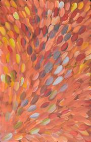 Sale 8408 - Lot 541 - Gloria Petyarre (c1945 - ) - Bush Medicine Leaves 150 x 96cm