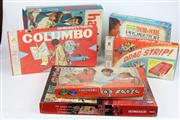 Sale 8448 - Lot 62 - Columbo Board Game with Others incl Drag Strip