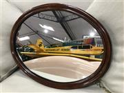 Sale 8822 - Lot 1262 - Mahogany Framed Mirror