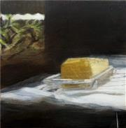 Sale 8878 - Lot 2006 - Melissa Selby Brown - Butter & Frangipani 30 x 30cm
